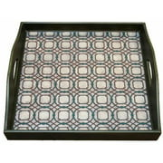 Peninsula Home Collection TX-AA-012-2000-LIN Square Tray Rabat - Links