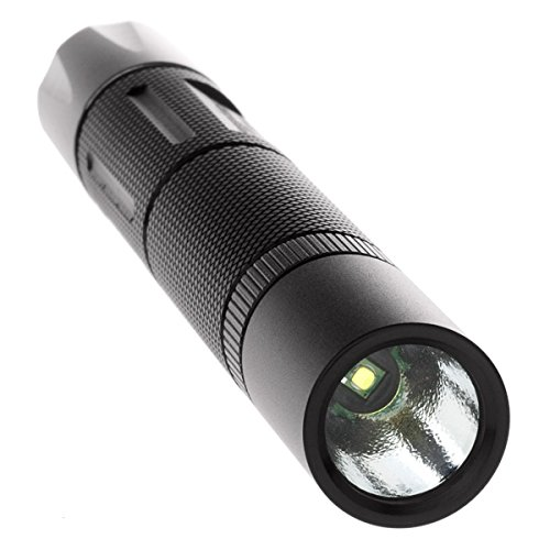 Nightstick MT-120 Mini-TAC Metal LED Flashlight-2 AA, 5.6-Inch, Black