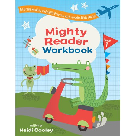 Mighty Reader Workbook, Grade 1 : 1st Grade Reading and Skills Practice with Favorite Bible Stories