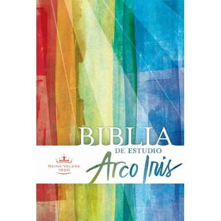 Rvr 1960 Biblia De Estudio Arco Iris  Multicolor