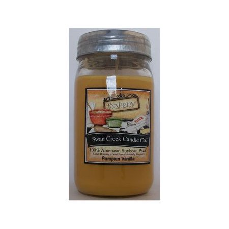 Swan Creek Candle Pumpkin Vanilla 24 Oz (Assassins Creed Pumpkin)