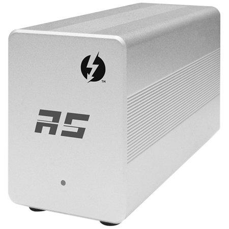 HighPoint RocketStor 6351A Docking Station - Thunderbolt 2 - 2 x USB Ports  - 2 x USB 3 0 - Network (RJ-45) - Audio Line