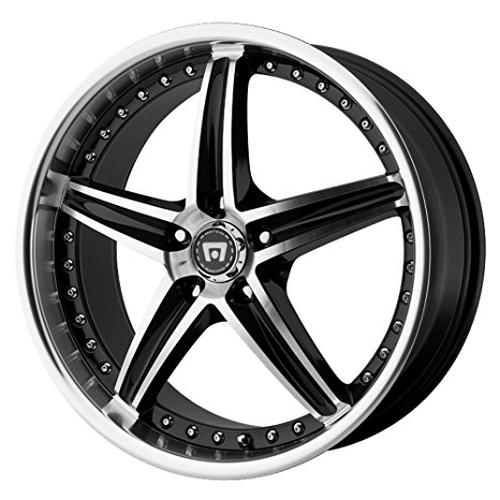 "Motegi Racing  Mr107 Wheel With Gloss Black Machined (16X7""/5X4.5"")"