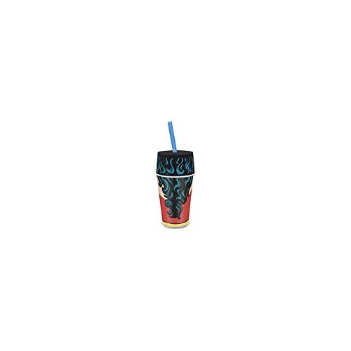 Zak! Designs Insulated Iconic Tumbler with Screw-on Lid and Straw featuring Wonder Woman Graphics, Double Wall... by Zak Designs