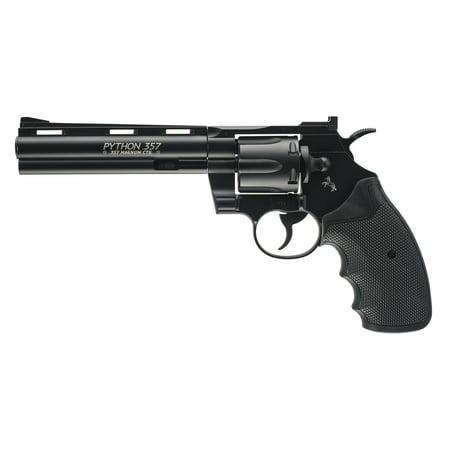 Umarex Colt Python 2254032 BB Air Revolver 400fps 0.177cal 6 (5 Round Revolver)