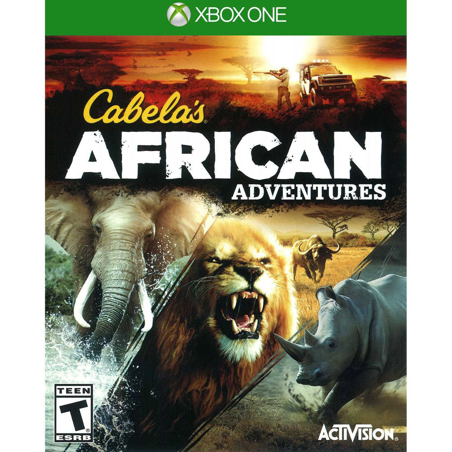 Cabelas African Adventures Xbox One Coop Wiring Diagrams Ut 86usb Uk Power Usb Socket Adapters Product Activision 77061 Cabela S Walmart Com Rh