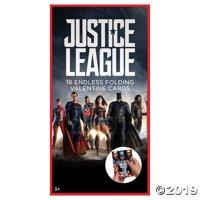 Justice League Valentine Folding Cards