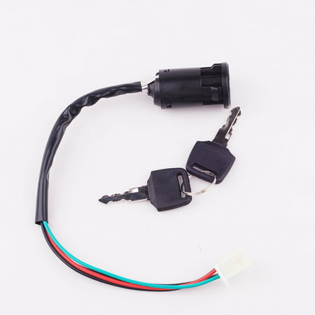 ATV Key Ignition Switch 4 Wire for 50 70 90 110 125 150 200 250 CC TaoTao SUNL I KS06
