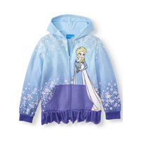 Disney Frozen Princess Elsa Halloween Costume Hoodie (Little Girls & Big Girls)