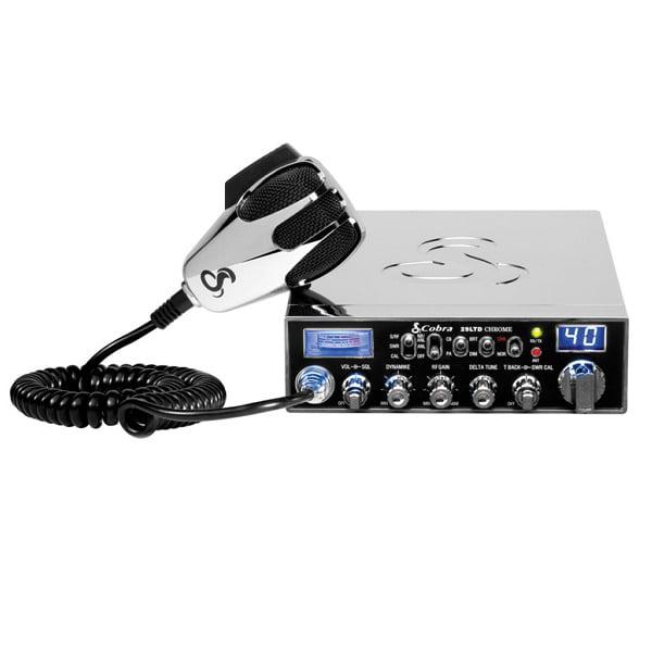 Cobra 29LTDCHR Chrome Special Edition Classic 40-Channel CB Radio by Cobra Electronics