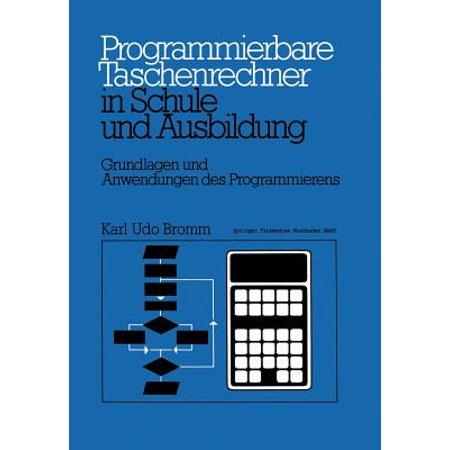 Programmierbare Taschenrechner in Schule Und Ausbildung (Arm Größe Taschenrechner)
