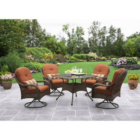 Better Homes And Gardens Azalea Ridge 5 Piece Patio Dining Set Seats 4