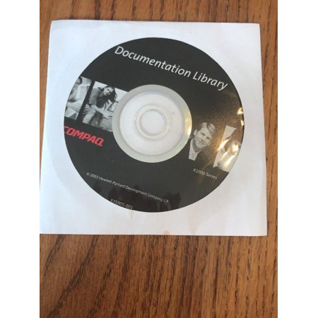 Compare Notebook Video Cards - New Sealed ~ Compaq Documentation Library - Evo Notebook (PC Software, CD-ROM)