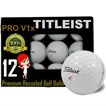 Titleist Pro V1x Recycled Golf Balls -36 Pack