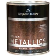 Benjamin Moore Studio Finishes Molten Metallics (621), Bronze, 32oz (1 Quart)