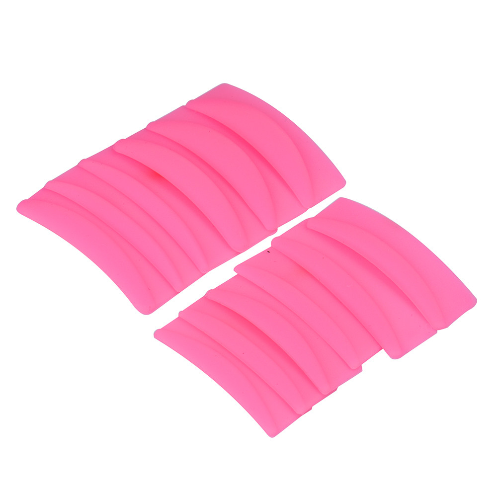 Outtop 6Pair Silicone Eyelash Perming Curler Curling False Fake Eye Lashes Shield Pad