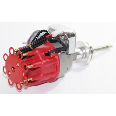 - Electronic HEI Distributor RED fit Small Block Mopar Dodge Chrysler 318 340 360
