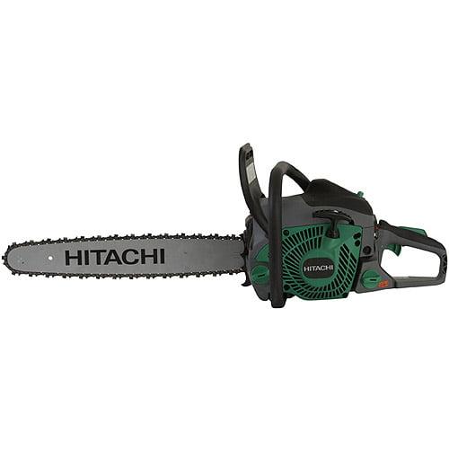"Hitachi 20"" Rear Handle Chainsaw, Green"