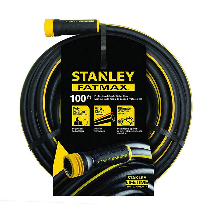 "Stanley 100' x 5 8"" FatMax Garden Hose by Stanley"