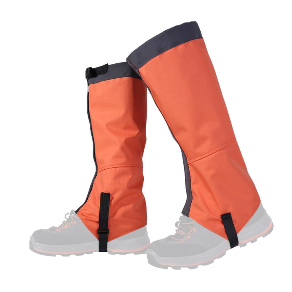 Black, 44 cm 1 Pair Waterproof Hiking Climbing Snow Legging Gaiters Leg Covers