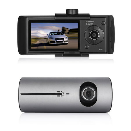 "1080P 2.7"" Car DVR Camera Video Recorder Vehicle Dash Cam G-Sensor GPS Dual Len Video Car Recorders"