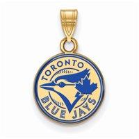 Toronto Blue Jays Women's Gold-Plated Enamel Pendant