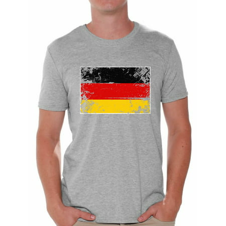 Awkward Styles Germany Flag Shirt for Men German Soccer 2018 Tshirt Gifts from Germany Flag of Germany German Men Germany Shirts for Men Germany 2018 Tshirt German Gifts for Him German Flag Tshirt