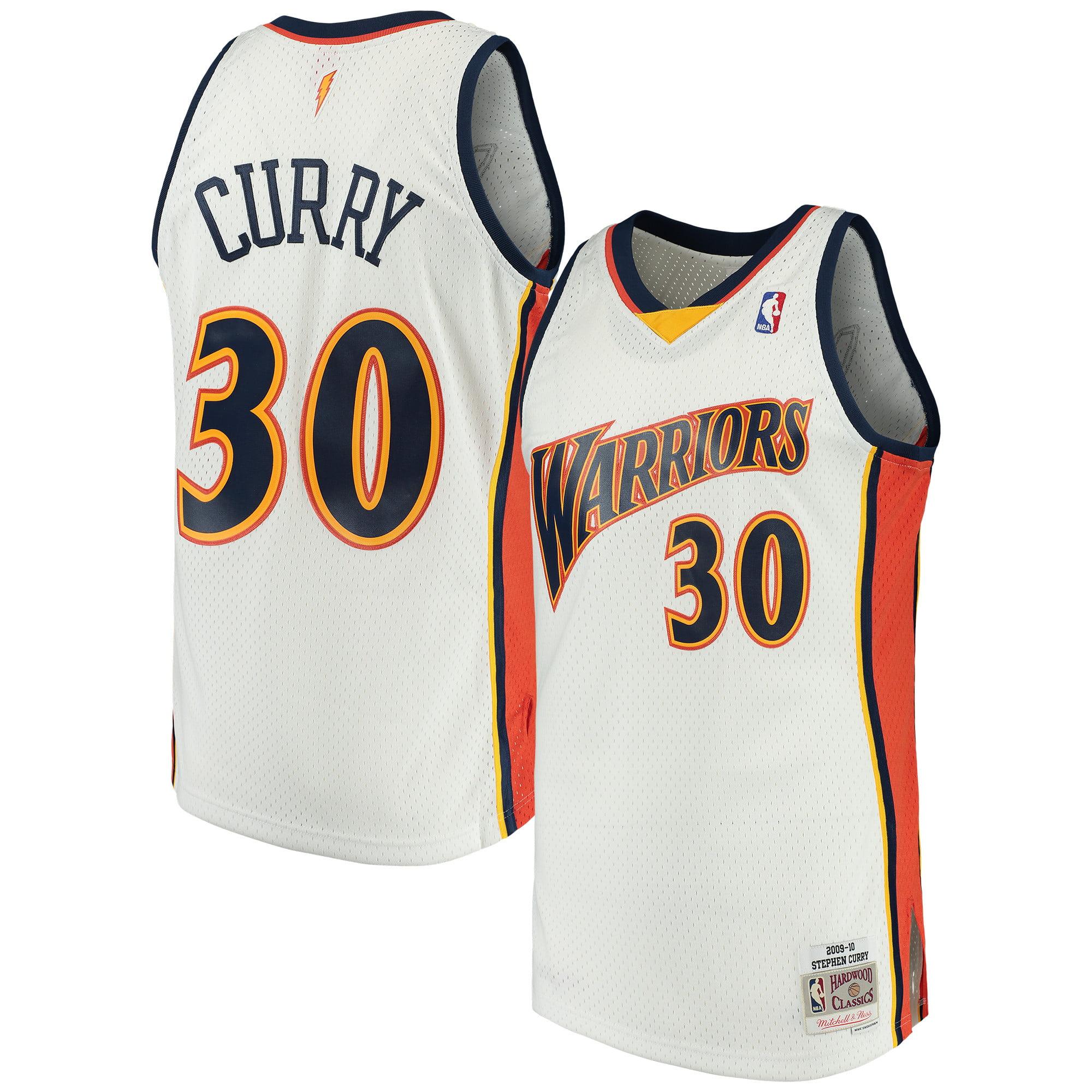 wholesale dealer 2ce36 682e5 Stephen Curry Golden State Warriors Mitchell & Ness Swingman ...