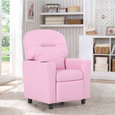 Costway Kids Sofa Recliner Armrest Couch Children Living Room ...