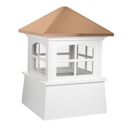 Cupola Copper Roof - Good Directions Huntington Vinyl Cupola with Copper Roof - 18