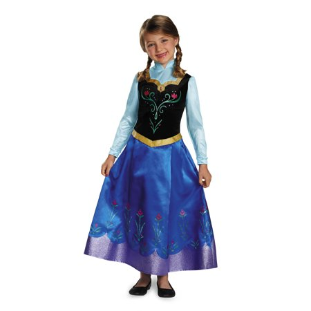 Child Frozen Anna Prestige Costume by Disguise 83192](Anna From Frozen Costume)