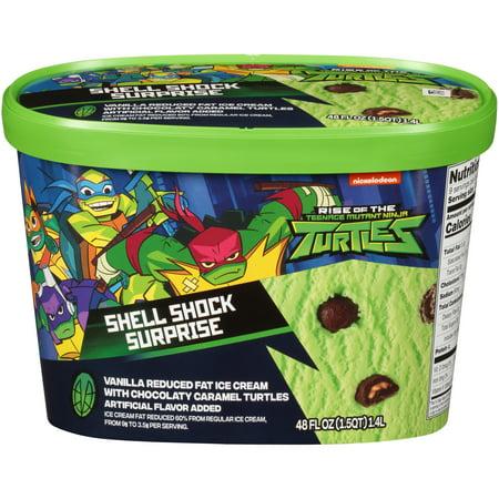 Nickelodeon Teenage Mutant Ninja Turtles Shell Shock Surpsise Ice Cream , 48 fl oz