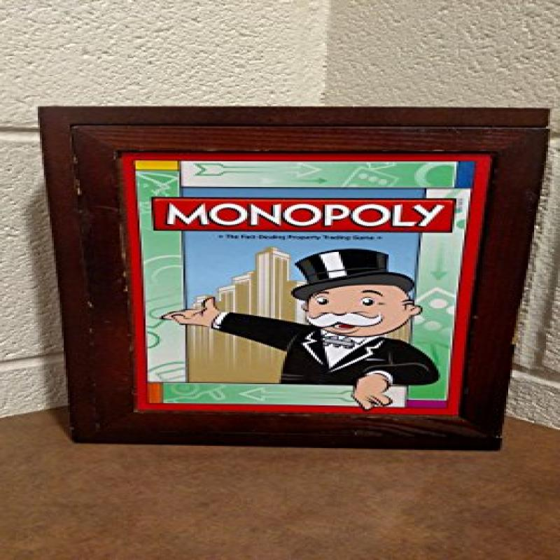 Library Monopoly Vintage Book Game by