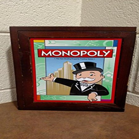 Vintage Monopoly (Library Monopoly Vintage Book Game)