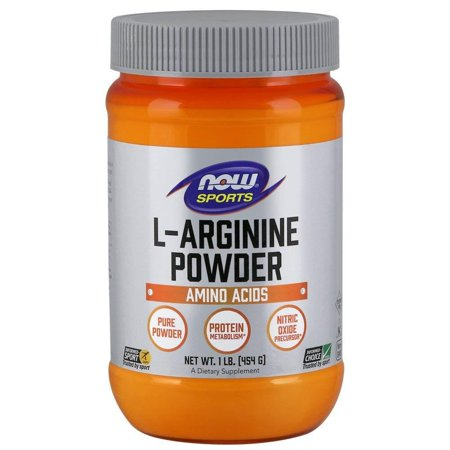 L-Arginine Powder, 1-Pound, 100% Pure - Free-Form By Now