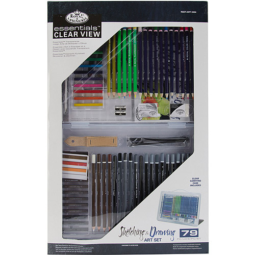 Royal Brush Essential Clear View Art Set