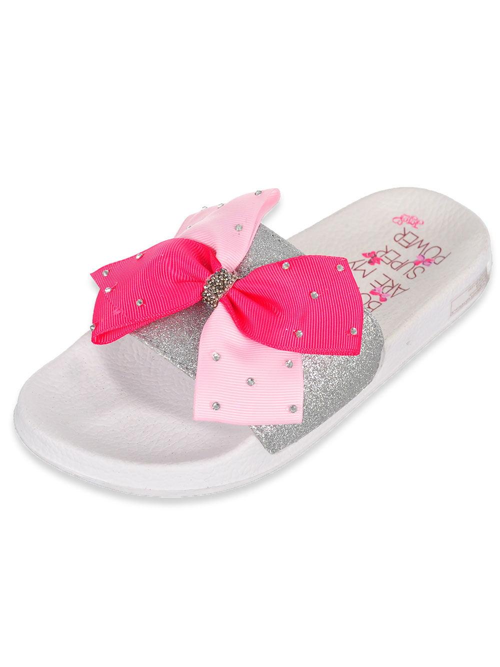 Sizes 13-5 Jojo Siwa Girls/' Slide Sandals