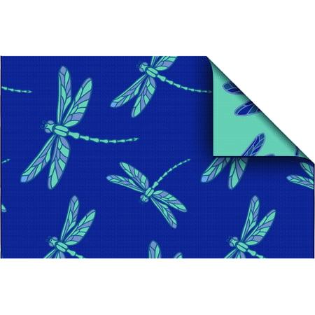Mainstays Dragonfly Patio Rug
