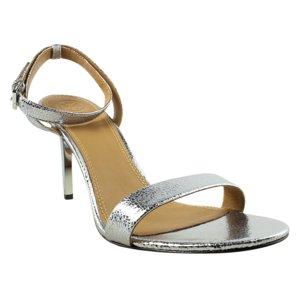 Tory Burch Womens  Gray Ankle Strap Heels Size 10 New