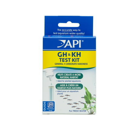 API GH & KH Test Kit, Aquarium Water Test Kit, 1-Count