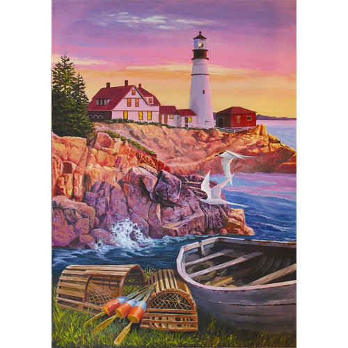 Jack Pine Puzzle Company Lighthouse Cove 1000 Piece Puzzle