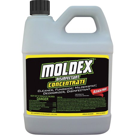 Moldex, RST5510, Disinfectant Concentrate, 1 Each, White