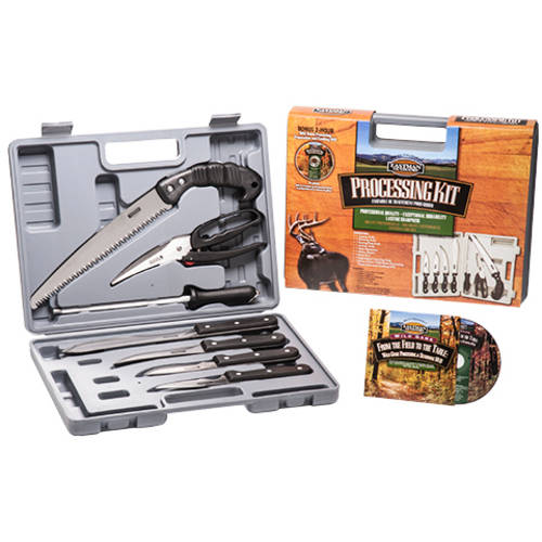 Eastman Outdoors Wild Game Processing Kit with DVD