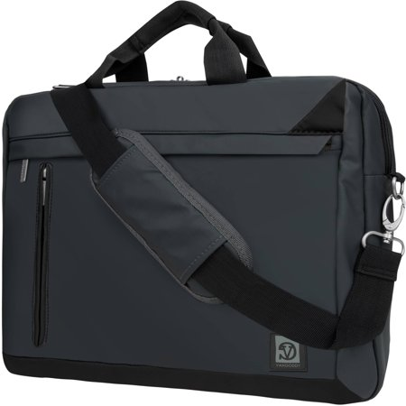 VANGODDY Adler Cushioned Laptop, Notebook, Netbook, Ultrabook Over the shoulder Bag Case fits up to 13 / 13.3 / 15 / 15.6 [Apple, Acer, Asus, HP Samsung, Toshiba, etc]