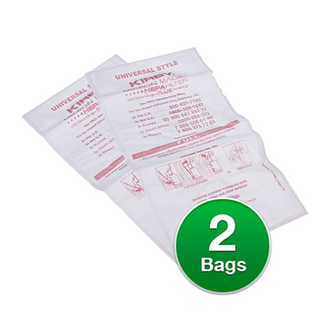 Replacement Vacuum Bag for Kirby Genuine Style F Allergen (Allergen Replacement Vacuum Bags)