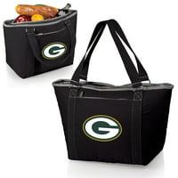 Green Bay Packers Topanga Cooler Tote - Black - No Size