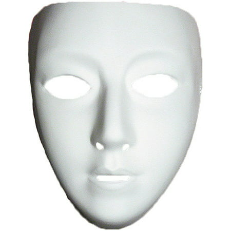 Blank Female Mask Halloween Accessory - Halloween Mask Woman