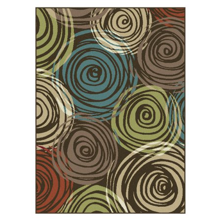 - Tayse Deco DCO101 Abstract Indoor Area Rug