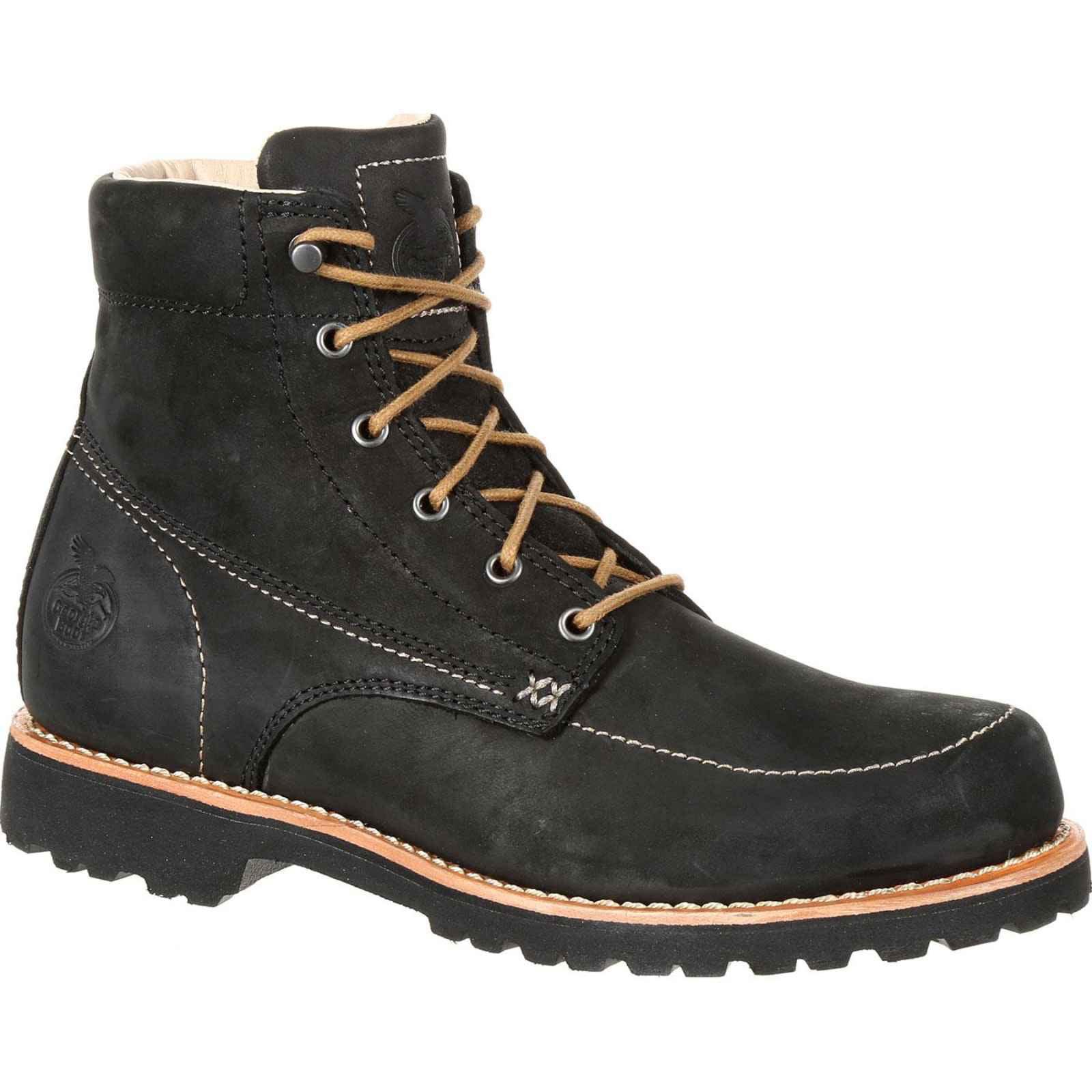 Georgia Boot Men's Black Small Batch Comfortable Stylish Casual Boot GB00173 by Georgia
