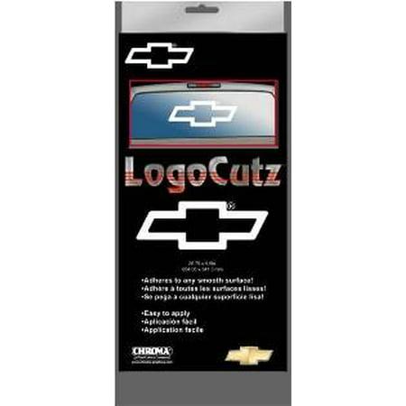 Chevy Logo Cutz Rear Window Decal 25.8
